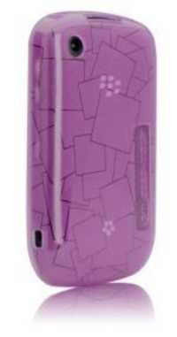 Case Mate Case Cover for Blackberry Curve 8520 / 3G 9300 Gelly Case Purple