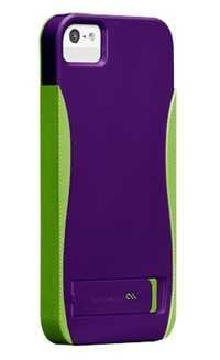 Case Mate POP w/Stand Case For iPhone 5 (Purple)