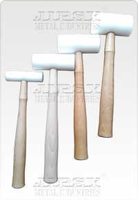 """Plastic Hammer Wooden Handle 1.25""""-1.50""""-1.75""""-2"""