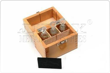 Gold Testing Acid Box with Bottle And Stone