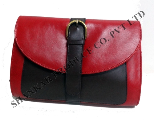 Leather Executive Clutch Bag