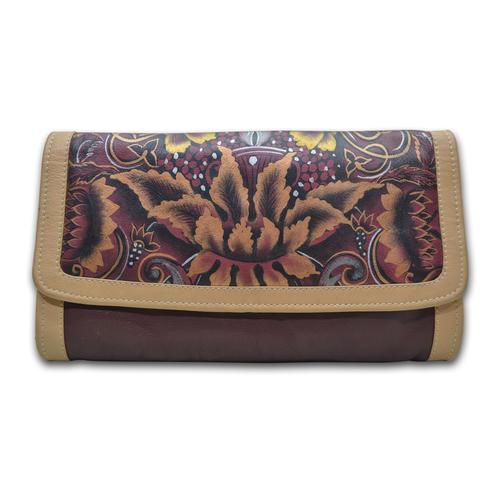 Leather Women Clutch