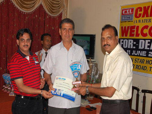 Award Distribution To Dealers On Achievement