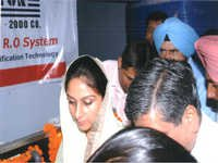 CXL TITON Water Depot Inaugurated BY M.P (Punjab)
