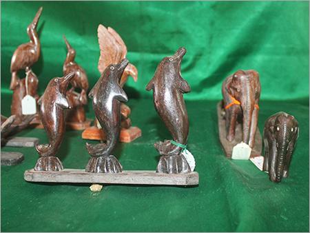 Teak Wood Showcase Items