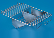 Top Wire Lid with Spring Clip Lock