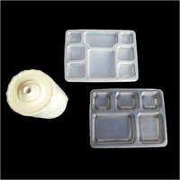 Portion Plastic Thali