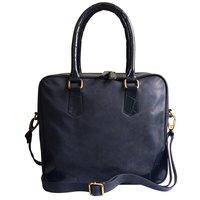 Leather Mini Pad & Laptop Bag