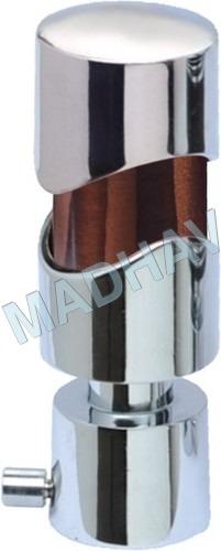 White Metal Curtain Bracket