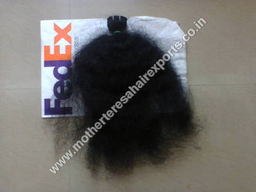 Machine Weft Curly Human Hair