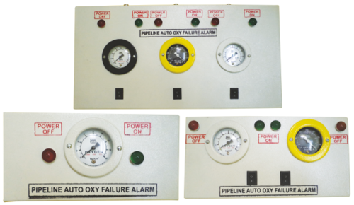 Medical gas pipeline alarm