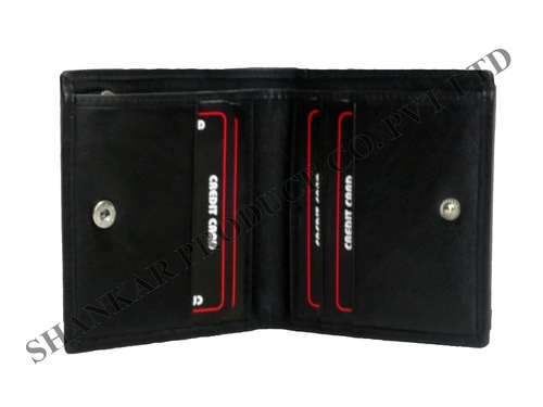 Genuine Leather Credit Card Wallet