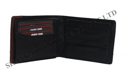 Leather Men's Standing Wallet