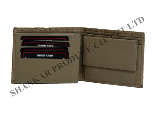 Croc Printed Men's Standing Wallet