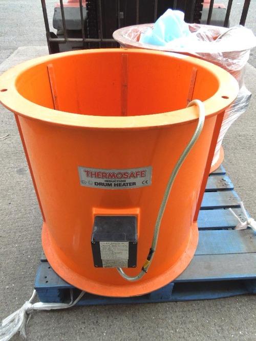 THERMOSAFE电感加热器为205Ltr鼓