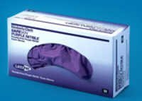 SAFESKIN Purple Nitrile Gloves 9.5