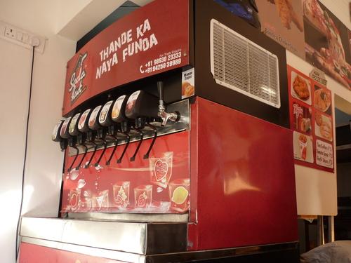 Mobile Soda Dispense
