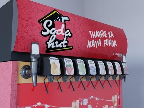 Automobile Soda Machine