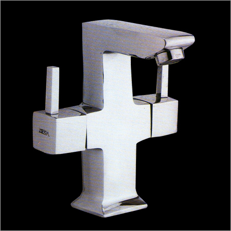 Centre Hole Basin Mixer Squaro