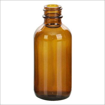 Amber Plastic Bottle