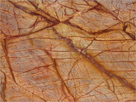 Rainforest Golden Red Marble