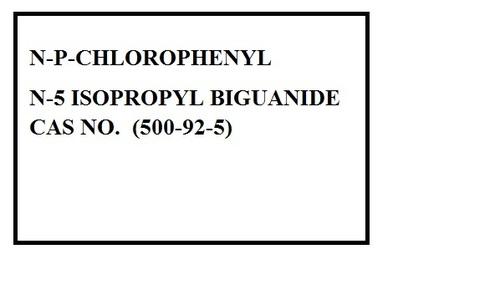 N P Cholorophenyl N 5 Isopropyl Biguanide