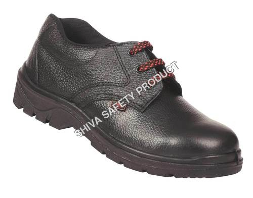 Lether safety shoe