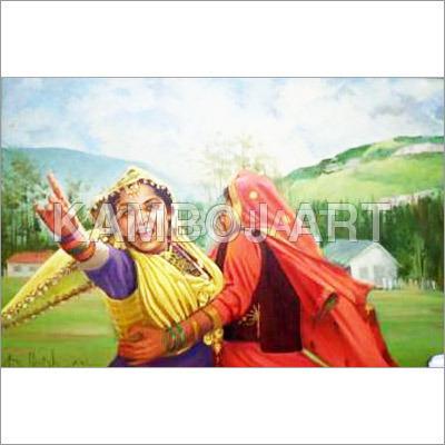 Kashmiri Oil Paintings