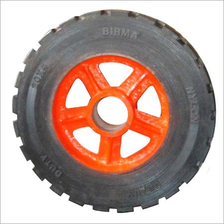 Heavy Duty Rubber Bounded Trolley Wheels