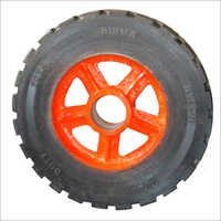 Heavy Duty Rubber Bounded Trolley Wheels