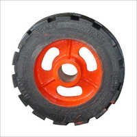 Rubber Bounded Trolley Wheels