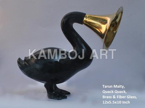 Decorative Brass Sculptures