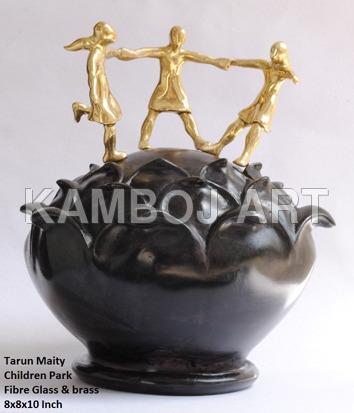 Designer Brass Sculptures