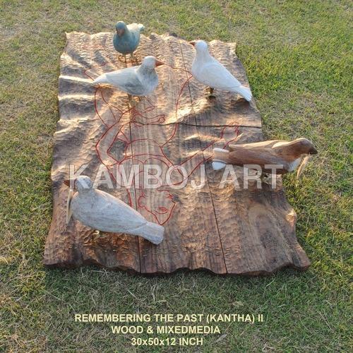 Designer Wood Sculpture