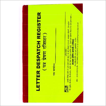 Letter Dispatch Register