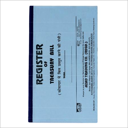 Treasury Bill Register