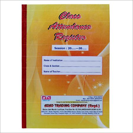 Class Attendance Register