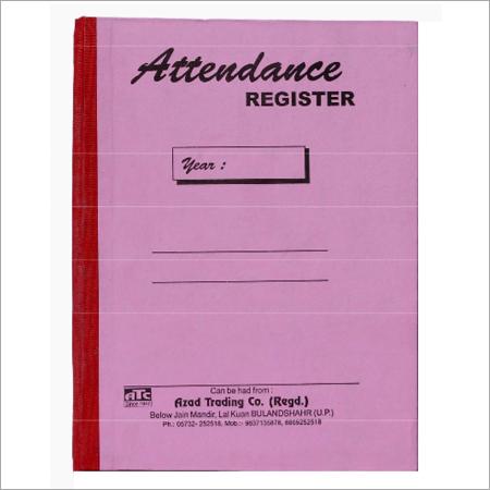 Attendance Register