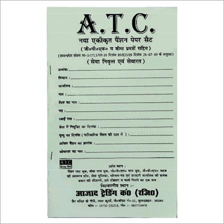 Nomination Paper Form