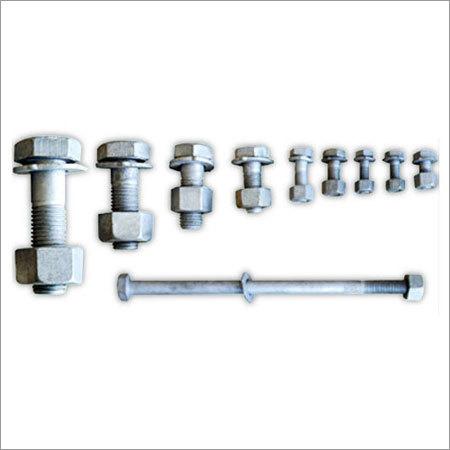 Industrial Mild Steel Hex Head Bolts
