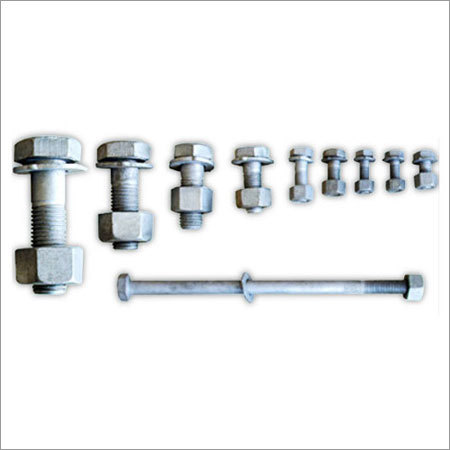 Industrial Mild Steel Hex Head Bolts