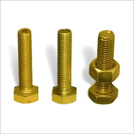 M.S. Hex Head Bolt