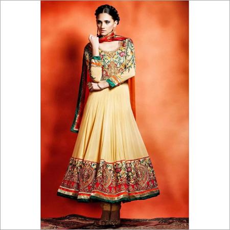 Bridal Orange Salwar kameez