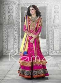 Pakistani Designer Pink Salwar Suit