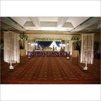 NEW WEDDING AISLAY WAY CRYSTAL PILLARS