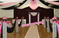Wedding Designer Aisleway Crystal Pillar
