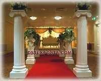 WEDDING ROMAN PILLARS