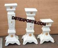 New Design Wedding Fiber Pillars