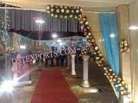 Wedding Aisle Way New Crystal Pillars