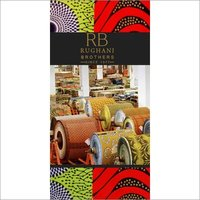 African Knitted Printed Fabric